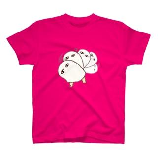 (●)(●)迫り来る眼差し T-shirts