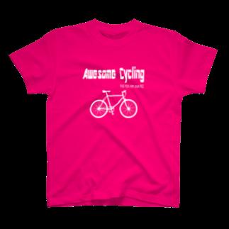 OKダイレクト powered by SUZURIの最高 Cycling(白文字) T-shirts
