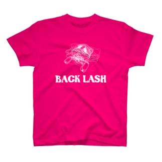 リールがバックラッシュ T-shirts