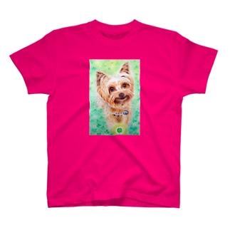 四葉のクローバー見つけたよ♪ T-shirts