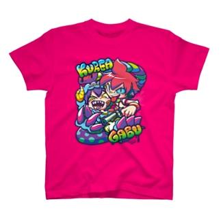 クレア&ガブ T-shirts