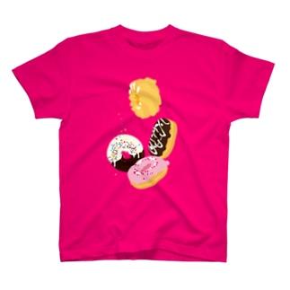 フォーリングドーナッツ T-shirts