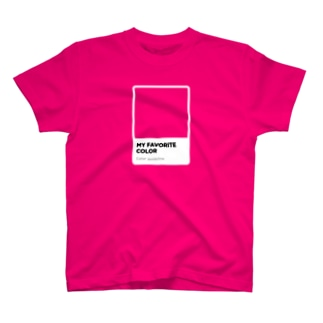 COLOR CHIP T-shirts