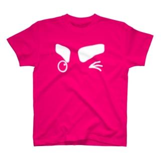 「ウィンク♪」 #シャチくん T-shirts
