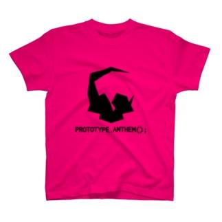 PROTOTYPE.ANTHEM(); T-shirts