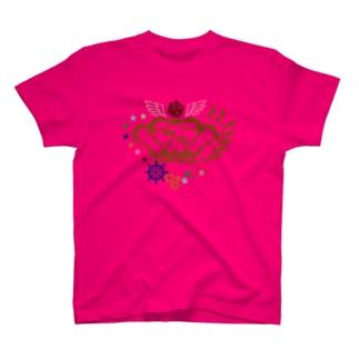 王育7周年ロゴ(カラー) T-shirts