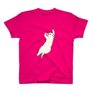 お登りフェレット(カラー1) T-shirts