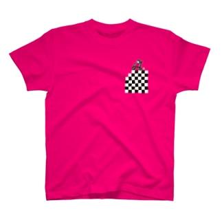 バイカー(濃いシャツ用) T-shirts