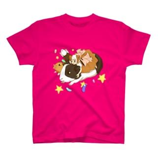 モルモット少女、もるにこちゃん T-shirts