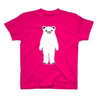 らくがきシリーズ-しろくまさん T-shirts