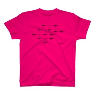 オバサンの家系図(千葉県産) T-shirts
