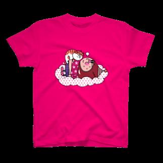 P-TOSHIのドン・グリアーノのお昼寝 T-shirts