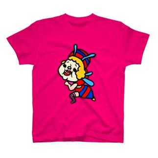 ミツバチフックちゃん T-shirts