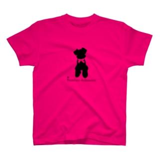 シュナシルエット T-shirts