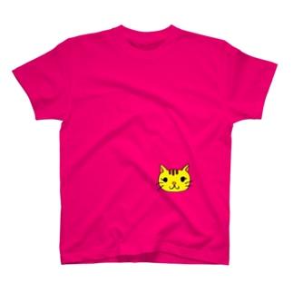 まつげにゃんこ T-shirts