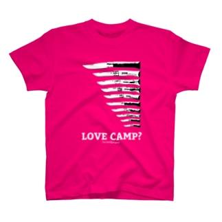 KnifeⅡ T-shirt(ピンク) T-shirts
