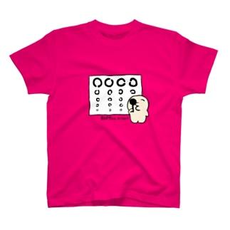 あばすちゃん【視力検査ver】 T-shirts