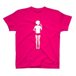 【濃色推奨】ブルマ女子 T-shirts