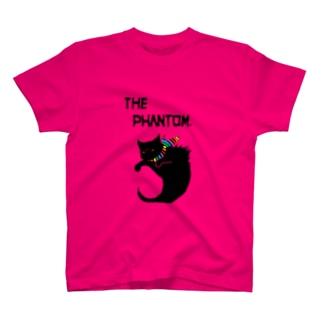 彷徨える黒い亡霊の服・明色向け Rainbow Pride Colors T-shirts