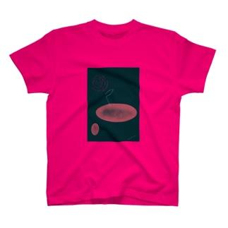 一輪の花・夜の花 T-shirts