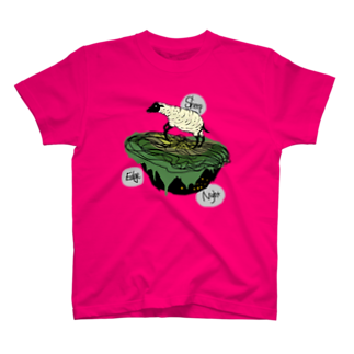深夜6時のSheep Edge the Night T-shirts