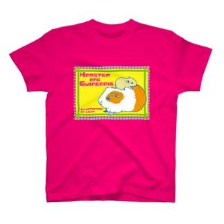 ハムスターとモルモット T-shirts