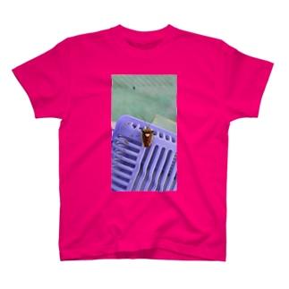 幸せを呼ぶ虫 T-shirts