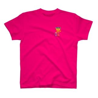 可愛い女の子ビザコちゃんグッズ T-shirts