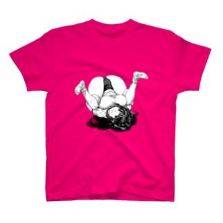 オオバンブルマイ まんぐりっ子 ブルマ T-shirts