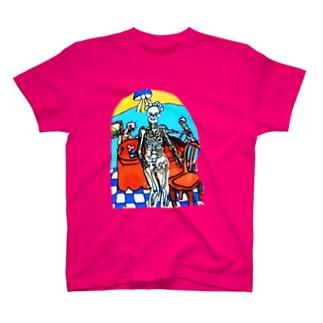 ガイコツメイドさん T-shirts