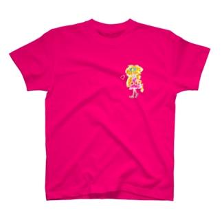 金髪の女の子 T-shirts