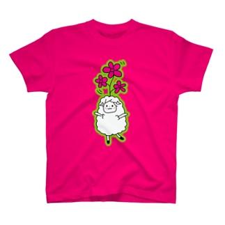 花ひつじ T-shirts