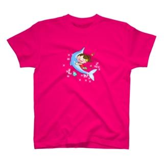 しし座9ハウスのしし座太陽ちゃん T-shirts