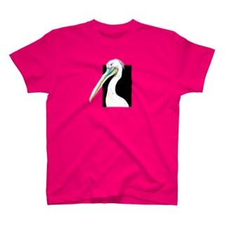 モモイロペリカン T-shirts