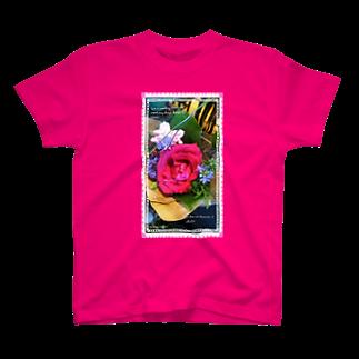 nonococoro-love2のrose T-shirts