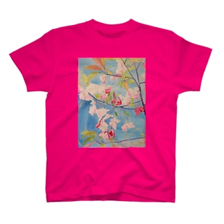 Elegance in Pink  T-shirts