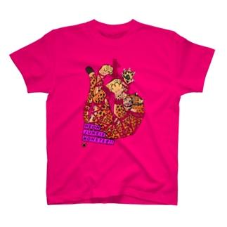 吊り緊縛レオパード T-shirts