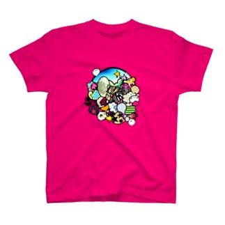 ガヤガヤ T-shirts
