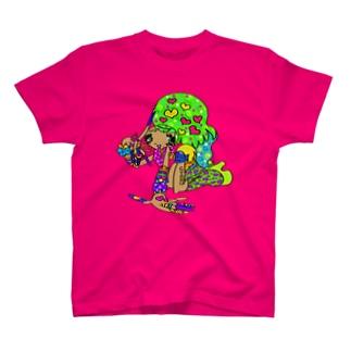 カラフル×ギャル③ T-shirts