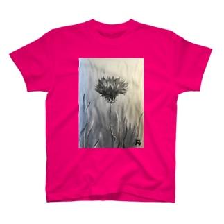 凡子モノ  ヤグルマギク T-shirts