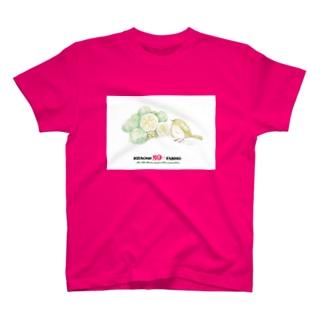 【大分県】かぼす&メジロ T-shirts