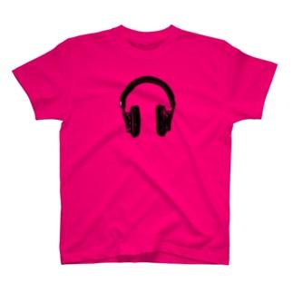 kaworu★ヘッドフォン T-shirts