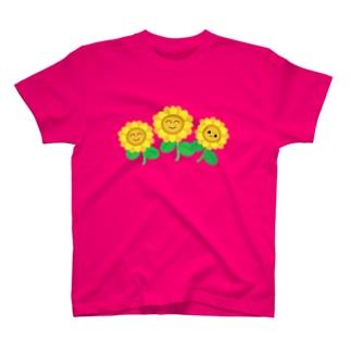 ひまわり2 T-shirts