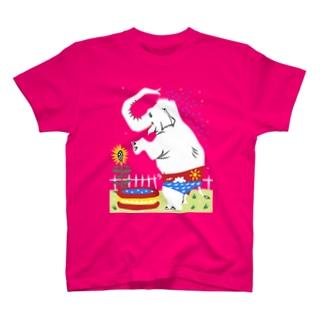 真夏のゾウ◆◇ T-shirts