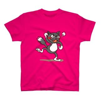 くつ下ねこさん(激怒) T-shirts