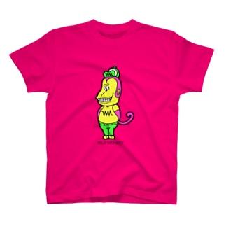 ワイルドモンキー T-shirts
