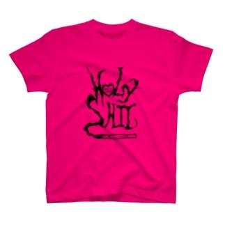HOLYSHIT BLACK LOGO T-shirts