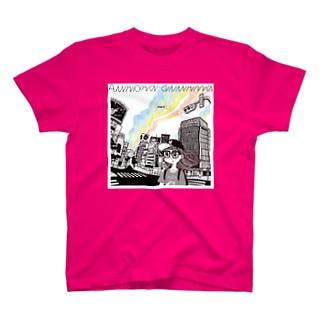 「Aurora diurna」ジャケデザイン2 T-shirts