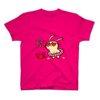 バカンスうさぎさん T-Shirt