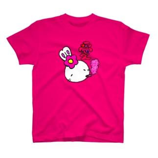 「愛」 ギラピンクver. T-shirts